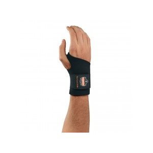 ERGODYNE 16614 – PROFLEX® 670 AMBIDEXTROUS SINGLE STRAP WRIST SUPPORT LARGE