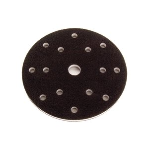 "MIRKA 1066 - 6"" DIA. 1/2"" THICK GRIP FACED INTERFACE PAD WITH 6 HOLES, 5/PKG"