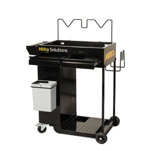 MIRKA MAI-CART-912 - Smart Cart Trolley - Black,  1/pkg
